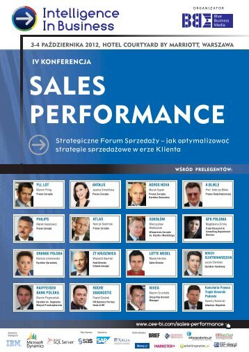 SALES PERFORMANCE - Blue Business Media