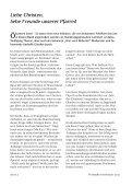 Liebe Christen, liebe Freunde unserer Pfarrei! - Pfarrei ... - Seite 2