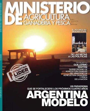 las politicas - Ministerio de Agricultura, Ganadería y Pesca