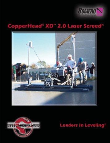 CopperHead XD 2.0 - Somero Enterprises