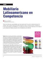 Diseño Mobiliario Latinoamericano en Competencia. - Revista El ...