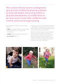 5 Practical ideas for physically active play - BHF National Centre ... - Page 5