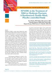 XP-828L in the Treatment of Mild-to-Moderate Psoriasis: A ...