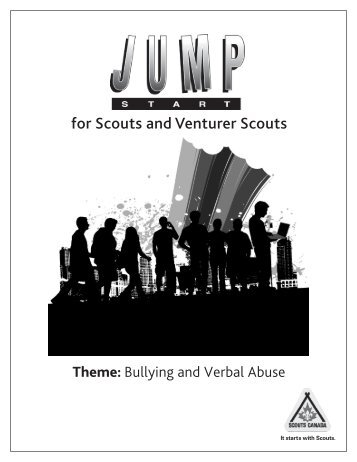 for Scouts and Venturer Scouts