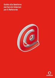 Guida ai Servizi Internet Rete Unica - Vodafone