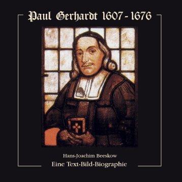 Download - Paul Gerhardt - Eine Text-Bild Biographie