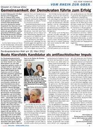 vom rhein zur oder - VVN/BdA NRW