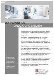 DRUCK UND MEDIEN - IE Engineering Group AG