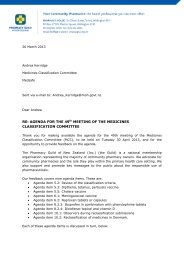 2013 03 26 Feedback on the agenda for the 49th meeting of the MCC
