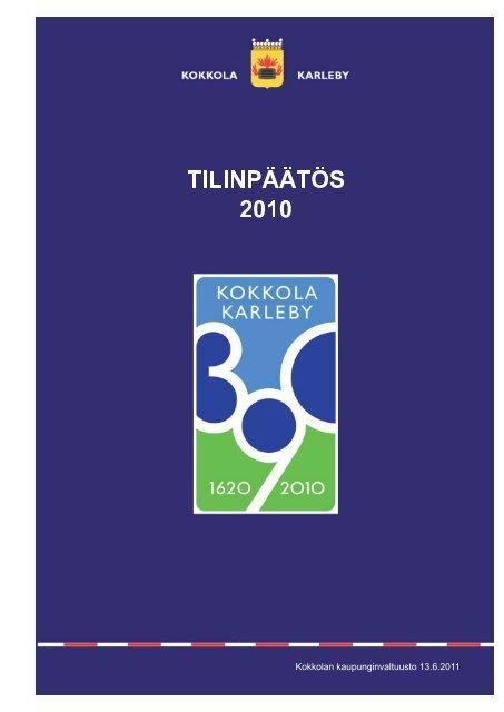 Tilinpäätös 2010.pdf - Kokkola