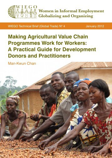 Making Agricultural Value Chain Programmes ... - Inclusive Cities