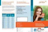 JA Dental - Zahnzusatzversicherung