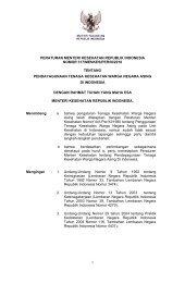 Peraturan Menteri Kesehatan RI No. 317 tahun 2010 tentang ...