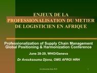 Organisation, Fonctionnement du Système de le Santé - People that ...