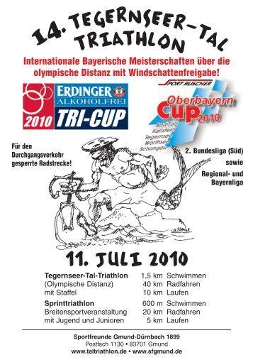 1 a 11. Juli 2010 - Tegernseer Stimme