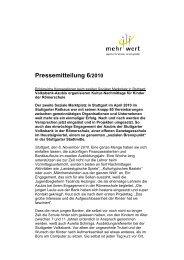 Pressemitteilung 6/2010 - Agentur mehrwert