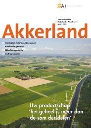 Magazine Akkerland - Productschap Akkerbouw