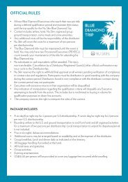 OFFICIAL RULES - Nu Skin