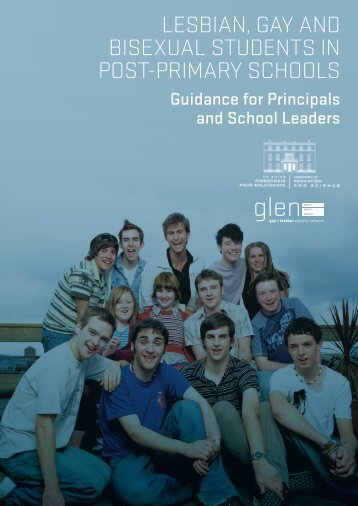 Lesbian, Gay and bisexuaL students in Post-Primary schooLs - Glen