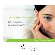 Wir servieren Perspektiven! - Compass Group