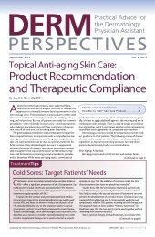 product recommendation and therapeutic Compliance - Bryn Mawr ...