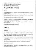 KP-1500-, KP-1800-keskuspölynimurin asennus- ja käyttöohje - Page 2