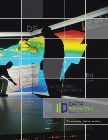 High technology in Geophysics - DATASEISMIC