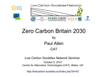pdf-file, 7.6 MB - Low Carbon Societies Network