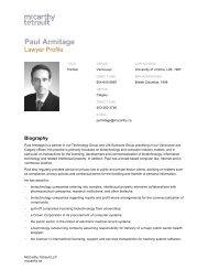 Paul Armitage - Life Sciences