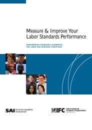 Measure & Improve Your Labor Standards Performance - IFC
