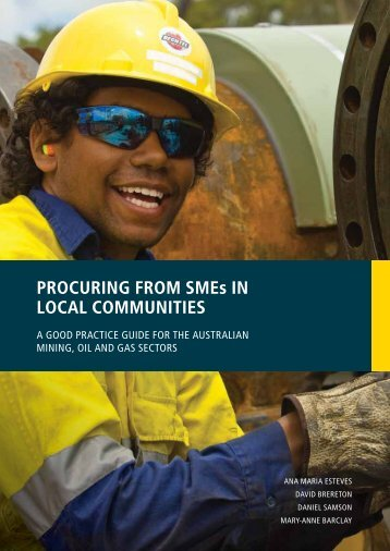 PROCURING FROM SMEs IN LOCAL COMMUNITIES - Centre for ...