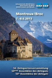 Montreux/Broc - Go4metal.ch