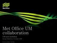 Slide (1.4 Mb) - Met Office