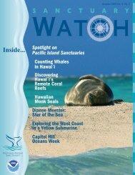 sanctuary watch vol 4 no 2 - National Marine Sanctuaries - NOAA