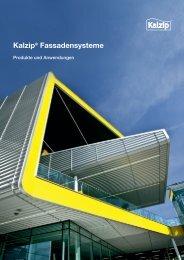Kalzip® Fassadensysteme