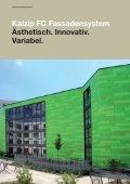 Kalzip® Fassadensysteme - Page 4