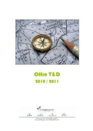 Le programme des cours - Compass Group