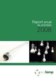 Raport anual - Recolamp