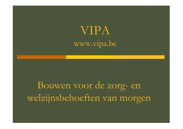 Nieuwe VIPA - Vlaanderen.be