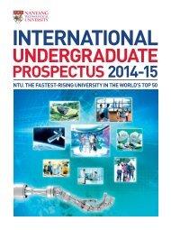 UNdErgradUaTE - Nanyang Technological University
