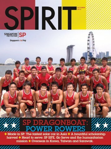 SP DRAGONBOAT: POWER ROWERS - Singapore Polytechnic
