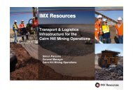 IMX South Australian Infrastructure Conference Presentation
