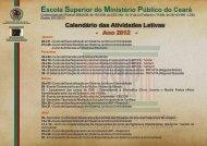 Planejamento 2012.cdr - Ministério Público do Estado do Ceará