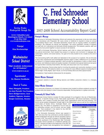 C. Fred Schroeder Elementary School - Axiomadvisors.net