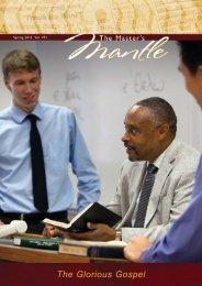 Spring 2012 Vol. 19:1 - The Master's Seminary
