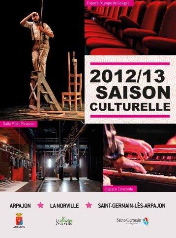 Saison culturelle 2012 - La Norville