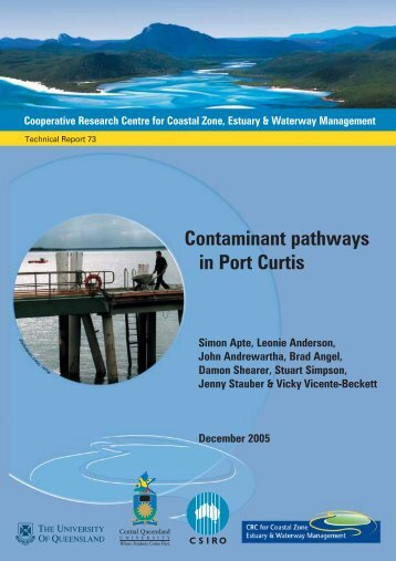 Contaminant pathways in Port Curtis: Final report - OzCoasts