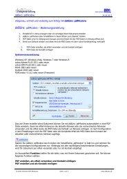 dsBüro: pdf4cobra - Dieter Schirmer, EDV-Beratung