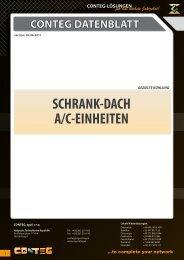 conteg datenblatt schrank-dach a/c-einheiten