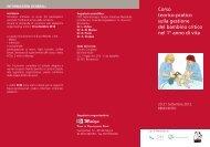 Corso teorico-pratico sulla gestione del bambino critico nel 1° anno ...